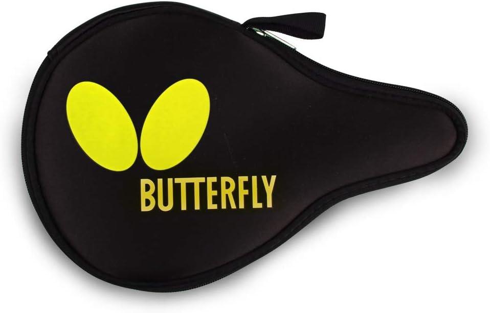 Butterfly Mariposa Raqueta de Tenis de Mesa Logo Full Funda