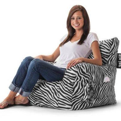 51ITJo06HbL - Video Game Chair, Bean Bag, Zebra