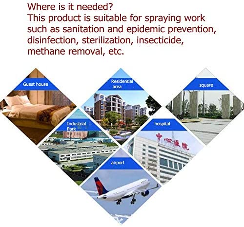 ダイヤフラムポンプバックパック噴霧器雑草キラーと肥料を適用するプロフェッショナル向けの4ガロン漂白剤耐性ポンプアセンブリコマーシャルリュックスプレーヤー