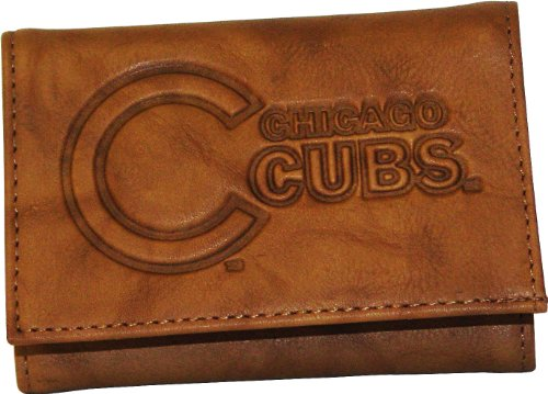 MLB Chicago Cubs Leather Wallet