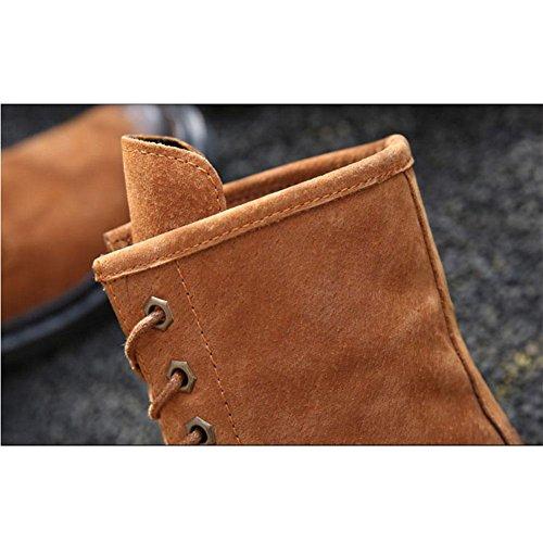 Stivali da donna invernali Antivento caldo piatto Scarpe casual , 39