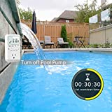 Digital Countdown Light Timer Plug with 20 On-Off
