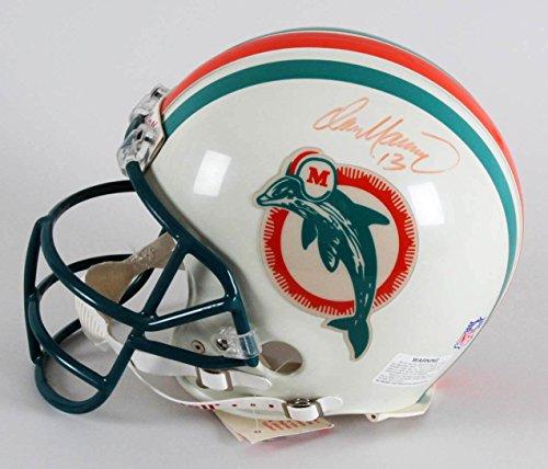 Dan Marino Signed Helmet - Dan Marino Signed Helmet Dolphins - COA JSA