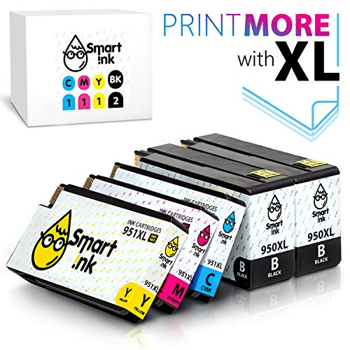 Smart Ink Compatible Ink Cartridge Replacement for HP 950 XL