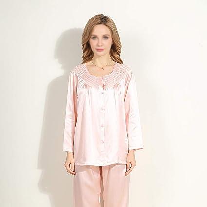 household items Pijamas de satén Noble para Mujer, Trajes de ...