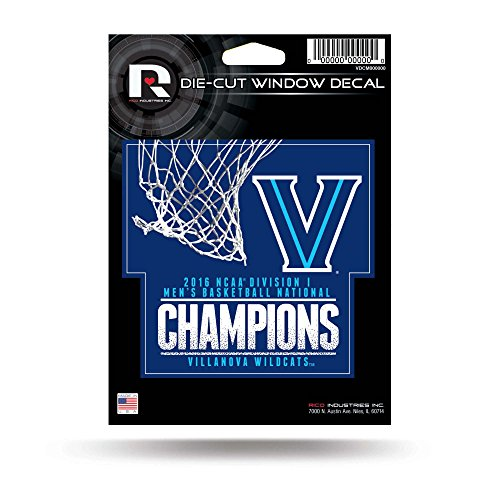 Rico Villanova Wildcats Official NCAA 5 inch x 5 inch Decal 5x5 by 184092