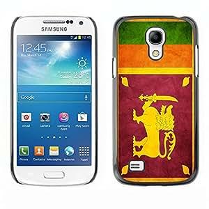 Shell-Star ( National Flag Series-Sri Lanka ) Snap On Hard Protective Case For Samsung Galaxy S4 MINI / i9190 / i9192