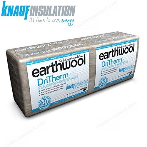 Knauf DriTherm 32 Cavity Insulation Slabs | 100mm (3.28m2 per pack) buildermerchant.com