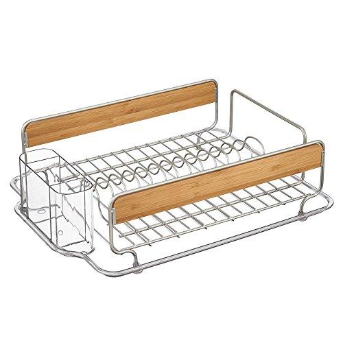 InterDesign Formbu Kitchen Dish Drainer Rack for Drying G...