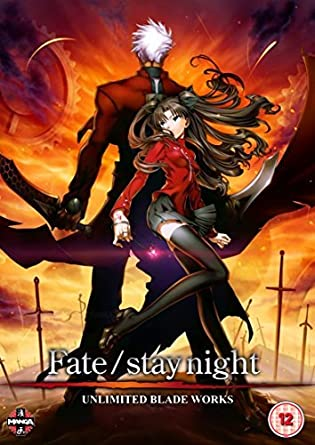 Fate Stay Night: Unlimited Blade Works DVD by Ayako Kawasumi