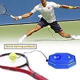 CIMERAC Tennis Trainer Tennis Equipment Tennis Ball Trainer Practice Training Tool Sport Exercise