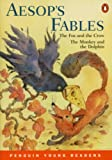 img - for Aesop's Fables: The Fox and the Crow & The Monkey and the Dolphin (Penguin Young Readers, Level 2) book / textbook / text book