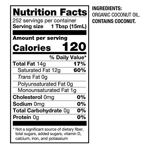 BetterBody Foods Organic Naturally Refined Coconut Oil with Neutral Flavor and Aroma, 56 Ounce 7