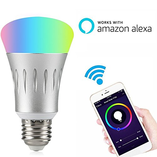 Wifi Smart Led Light Bulb Works With Alexa No Hub Required