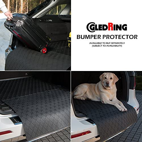 Gledring GLED-BL-1352 Custom Tailored Fit Black All Weather Rubber Boot Liner Tray Mat