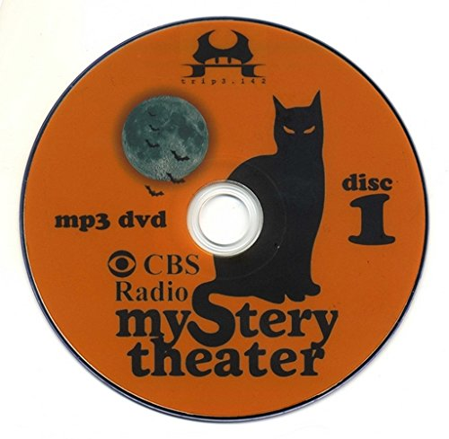 Complete Mystery Theater Collection - Old Time Radio (OTR) (Theatre) (4 x mp3 DVDs) (1163 episodes)