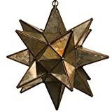 Glass Star Pendant Lights (18 Inch, Mirror)