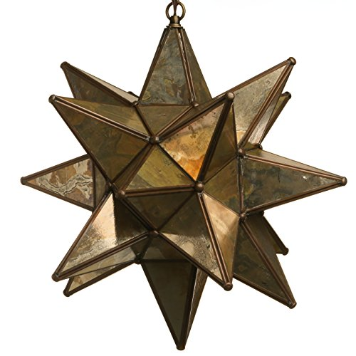 Star Shaped Light Pendant in US - 4