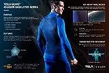 TSLA Men's UPF 50+ Swim Shirts, Quick Dry Short