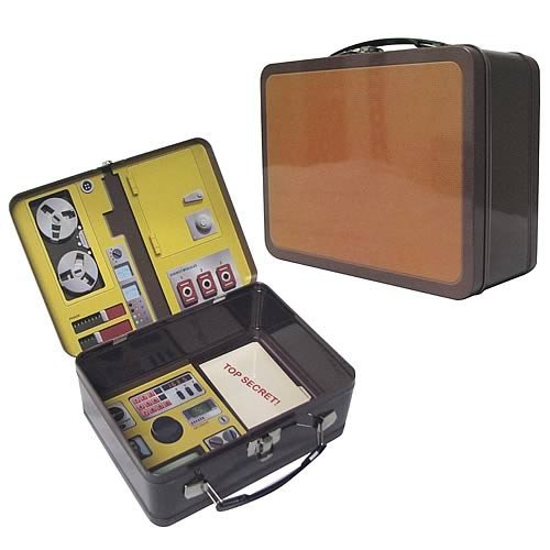 Six Million Dollar Man Oscar Goldman's Briefcase Lunch Box