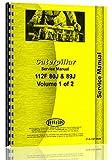 Caterpillar 112F Grader Service Manual