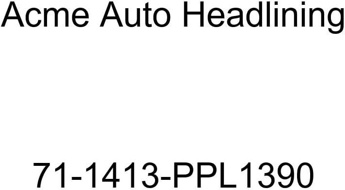 1971 Chevrolet Camaro 2 Door Hardtop 5 Bow Acme Auto Headlining 71-1413-PPL1390 Maroon Replacement Headliner
