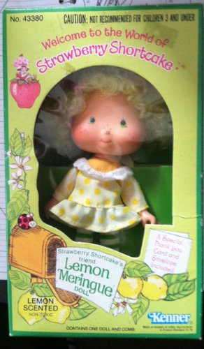 Strawberry Shortcake - Original Scented Lemon Meringue Doll (1980)