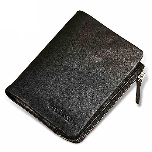 Genuine Veg-tanned Leather Wallet for Men - Card Extra Capacity - Gift Box incl. ()