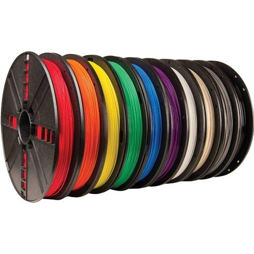 MakerBot MP06572, True Color Large PLA Filament 10 Pack by MakerBot