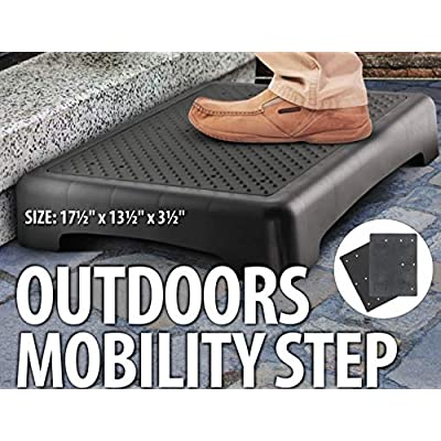"Kovot Indoor & Outdoor Mobility Step | Measure 17.5"" L x 13.5"" W x 3.5"" H & Lightweight 