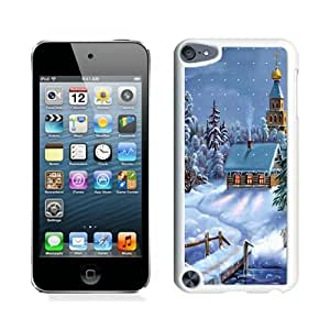 Design for Mass Customization Christmas Snow Scen White iPod Touch 5 Case 1