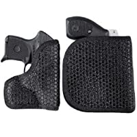 Desantis Super Fly Pocket Holster w/Outer Flap Kimber Micro 9MM; Kahr P380; Sig P938; Beretta Pico Ambidextrous