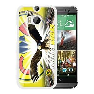 Popular Design HTC ONE M8 Case Club America 1 White Best New Design HTC ONE M8 Cover Case