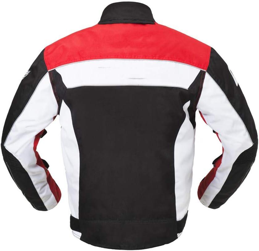 KPTKP Veste Moto Moto Moto Veste Homme Scooter Rider Veste de Protection Textile blind/é,XXL