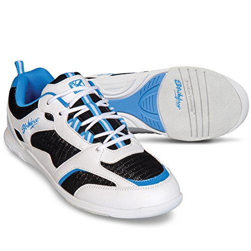 Light Bowling US schwarz 10 weiß blau shoes Spirit KR M Strikeforce Damen tTqwRH