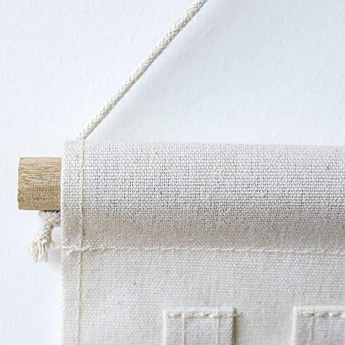 salles de Bains Bureau Tonpot 7 Crochets de Poche Cactus House Moulding Lin en Lin Sac de Rangement Mural Multi-Function Debris Sac Pliant pour Chambres denfants Chambres /à Coucher