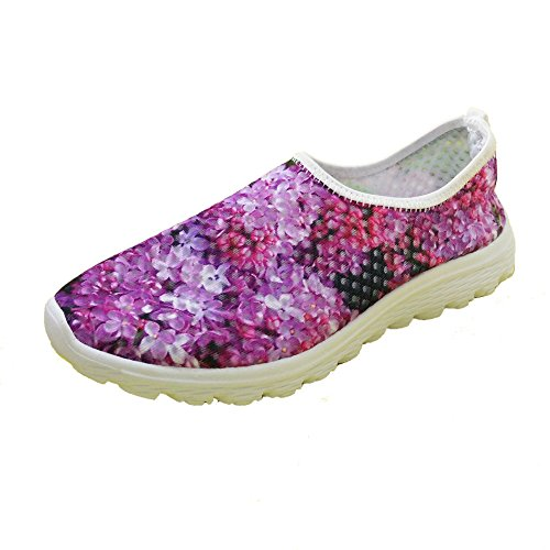 Shoes Mesh Purple For Sneaker FOR Stylish Running 1 Lightweight DESIGNS Convenient Women U 1n8HB