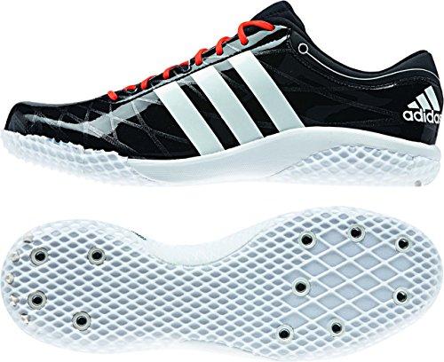 Adidas Adizero High Jump Zapatillas - negro y rojo (cblack/ftwwht/solred)