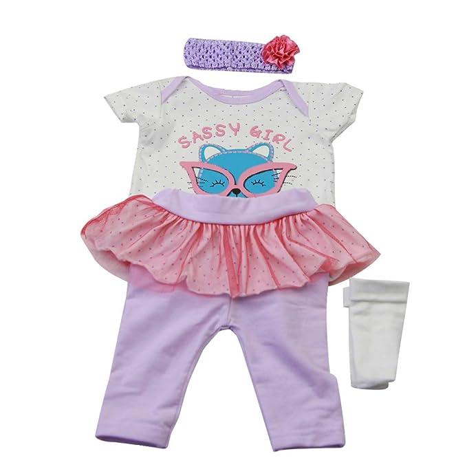 53f3d4135e72 Amazon.com  Theshy Chirstma Design Reborn Baby Doll Clothes ...