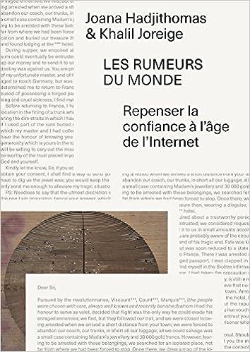 Livre Les rumeurs du monde : Repenser la confiance à l'âge de l'Internet pdf, epub ebook