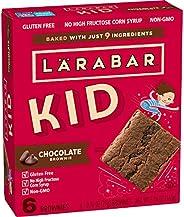 Larabar Kid Gluten Free Bar, Chocolate Brownie, 6 ct, 5.76 oz