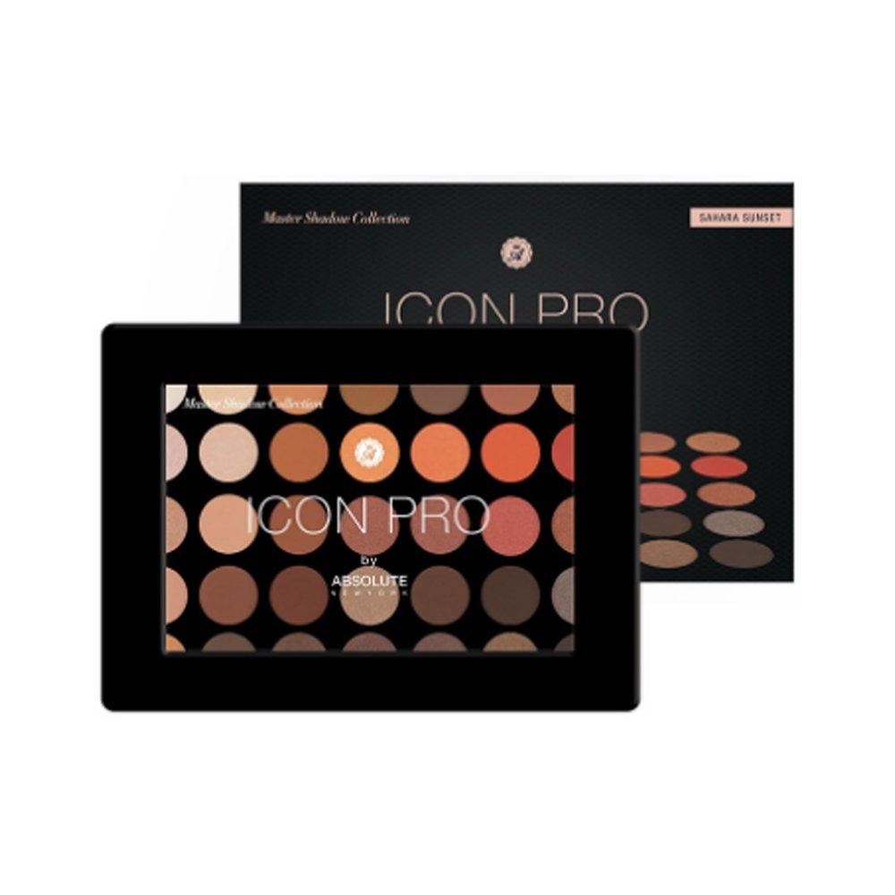 (6 Pack) ABSOLUTE Icon Pro Palette - Sahara Sunset (並行輸入品) B072218Q5T