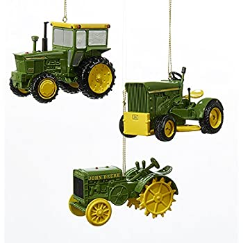 Amazoncom John Deere Tractors Official Licensed Christmas