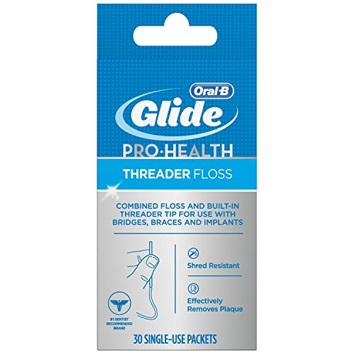 Oral-B Glide Threader Floss (Pack of 4)