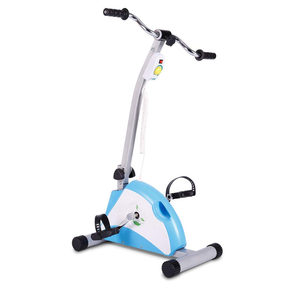 JFJL Physiotherapie und Rehab Bike Pedal motorisierter Trainer für Behinderung,Deaktiviert und Schlaganfall-Überlebender - Medizinischer Hausierer für Bein-Arm- und Knie Wiederherstellungsübung