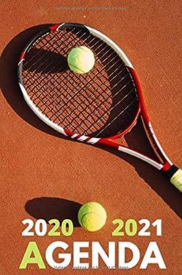 Amazon.co.jp: Agenda 2020 2021: agenda scolaire 2020 2021 tennis
