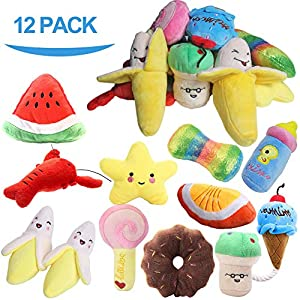 PLAYJOY Puppy Chew Toys/Small Dog Toys,Dog Toys for Small Medium Dogs, Interactive Dog Toys for Boredom, Squeaky Plush Dog Toys, Puppy Toys 1
