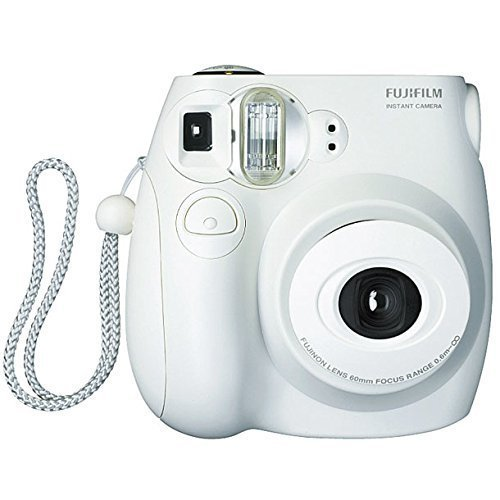 Fujifilm Instax MINI 7s White Instant Film Camera (Certified Refurbished)