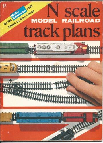 N Scale Model Railroad Track (Scale Track Plan)