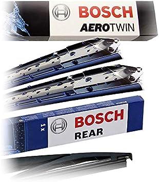 Set Bosch Wischer Wischerblatt Wischerblätter Scheibenwischer Scheibenwischerblätter Aerotwin Multi Clip Am468s Heckwischer Heckwischerblatt Heckscheibenwischer H301 Auto
